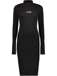 10 Days Jurk HIGH NECK DRESS 20 332 0201 BLACK