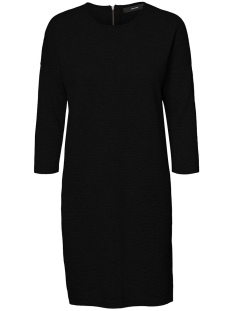 Vero Moda Jurk VMMINNIECARE LS O-NECK DRESS GA NOO 10228097 Black