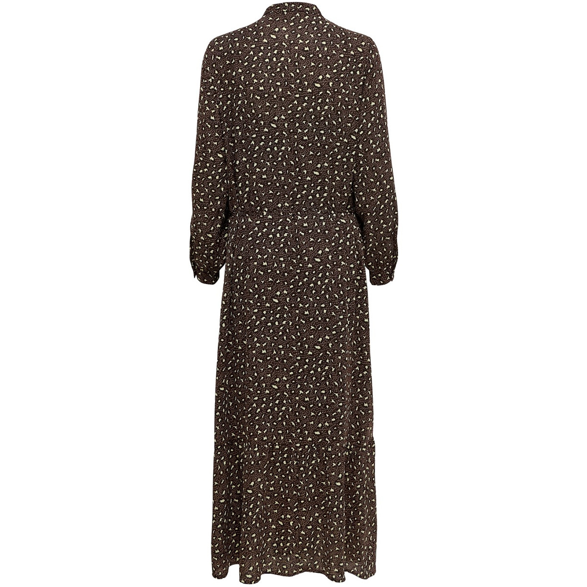 jdyricci l/s maxi dress wvn 35005787 jacqueline de yong jurk chicory coffee/leo