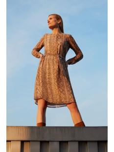 Esprit Collection Jurk CHIFFONJURK MET SLANGENPRINT EN RIEM 010EO1E309 E263