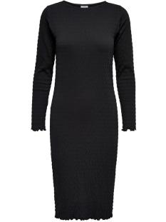 Jacqueline de Yong Jurk JDYSHILDA L/S DRESS JRS 15184343 Black/STRIPE