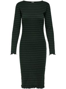 Jacqueline de Yong Jurk JDYSHILDA L/S DRESS JRS 15184343 Scarab/STRIPE