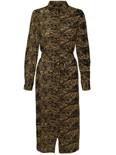 Vero Moda Jurk VMTRUDY LS SHIRT DRESS LCS 10229984 MEERKAT/TRUDY