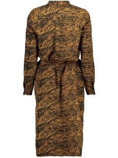vmtrudy ls shirt dress lcs 10229984 vero moda jurk meerkat/trudy