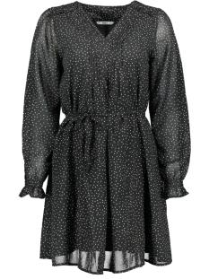 onlbeatrice  life l/s dress wvn 15196255 only jurk black/cloud dancer