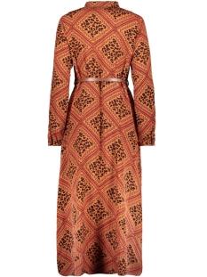 vmnaya l/s maxi shirt dress exp 10228776 vero moda jurk bruschetta/graphic