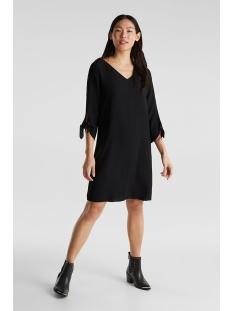 crepe jurk met lasercut details 990eo1e303 esprit collection jurk e001