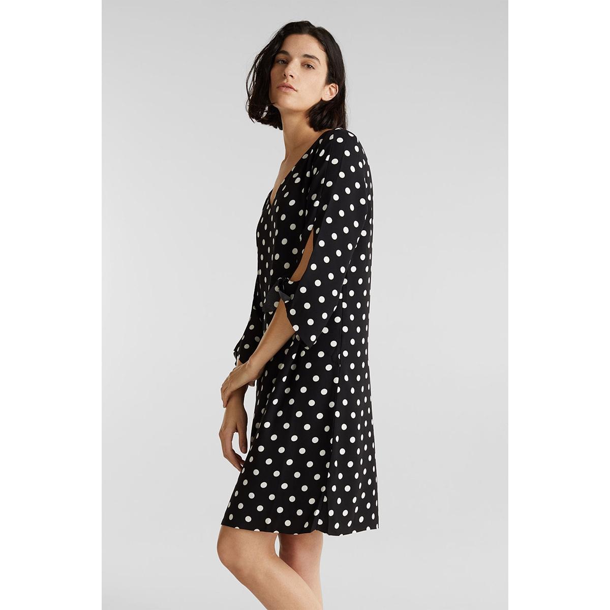 crepe jurk met stretch 999eo1e806 esprit collection jurk e003