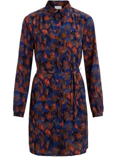 Vila Jurk VIMULTIYANA L/S SHIRT DRESS/L 14059200 Mazarine/YANA