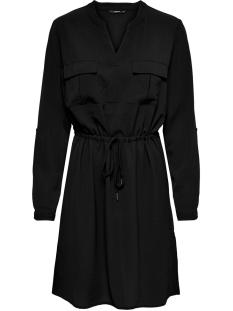 Only Jurk ONLWINNERVERTIGO L/S DRESS WVN 15197848 Black