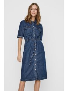 nmezgi s/s long dnm dress  su101mb 27011503 noisy may jurk medium blue denim