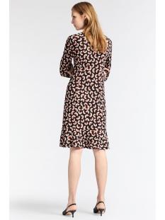 jersey jurk met bloemen 23001683 sandwich jurk 80041 black