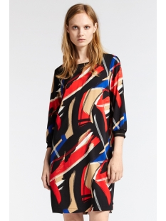 Sandwich Jurk GEWEVEN JURK 23001697 20151 RED