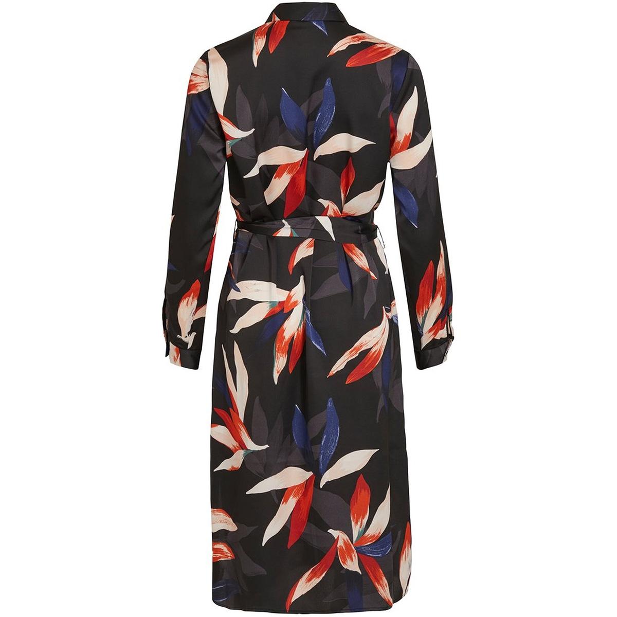objmichelle l/s shirt dress a div 23033620 object jurk sky capitain/big leave