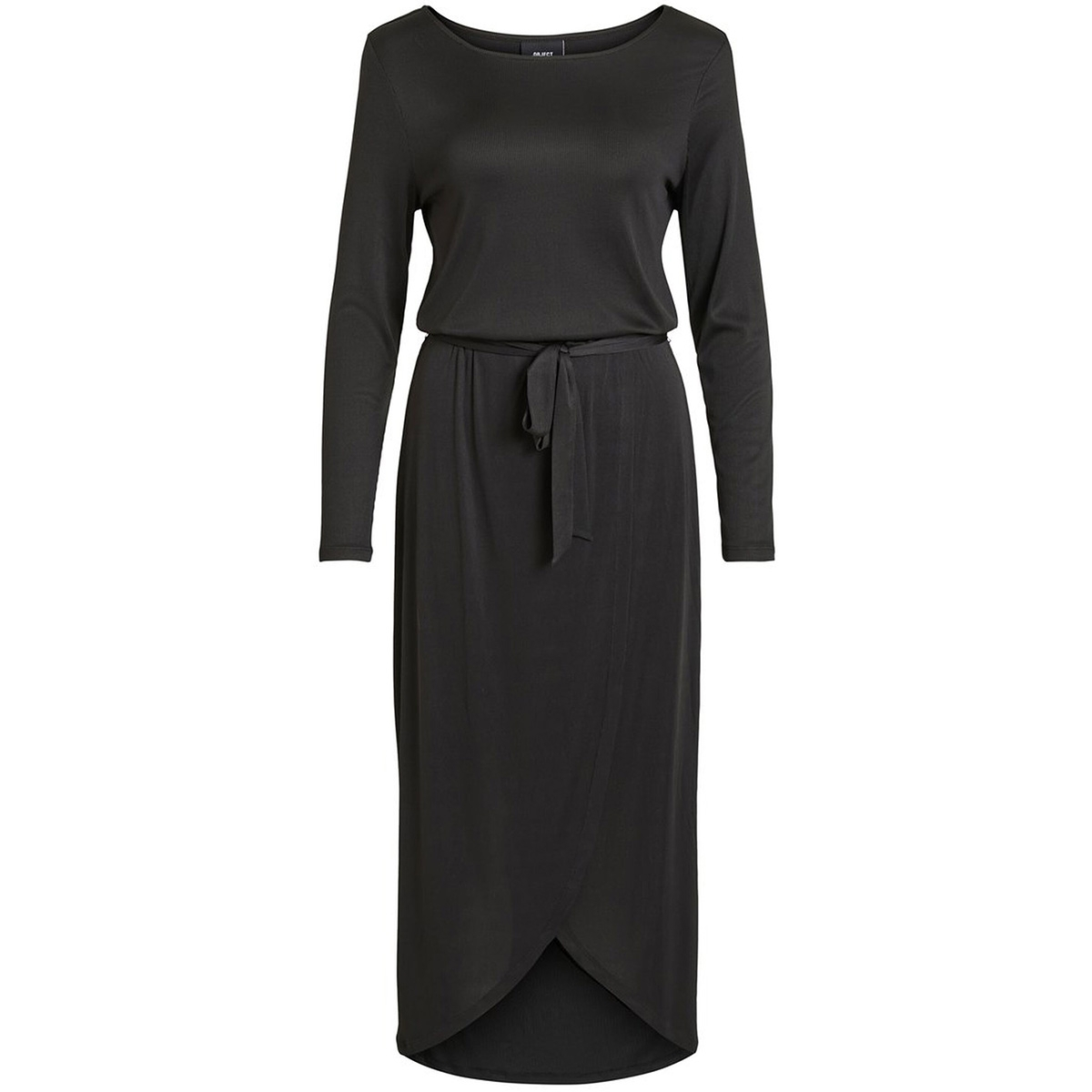 objarzana l/s nadia dress a wi 23032584 object jurk black