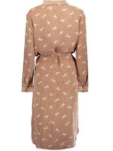 woven shirt dress on knee u6018 saint tropez jurk 6244 g bread