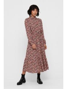 Only Jurk ONLIRAH LS LONG SHIRT DRESS WVN 15206485 Night Sky/DITSY