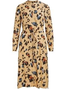Vila Jurk VICAVA LIOAN L/S SHIRT DRESS/L 14057818 Nomad/LIOAN