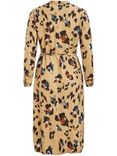 vicava lioan l/s shirt dress/l 14057818 vila jurk nomad/lioan