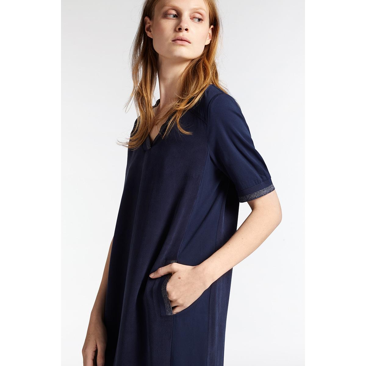 jurk met glitterstrepen 2301700 sandwich jurk 40115
