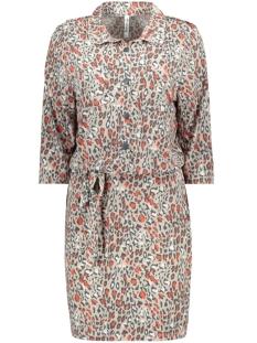 joan leopard printed dress 201 zoso jurk 0007/0072 sand/desert red