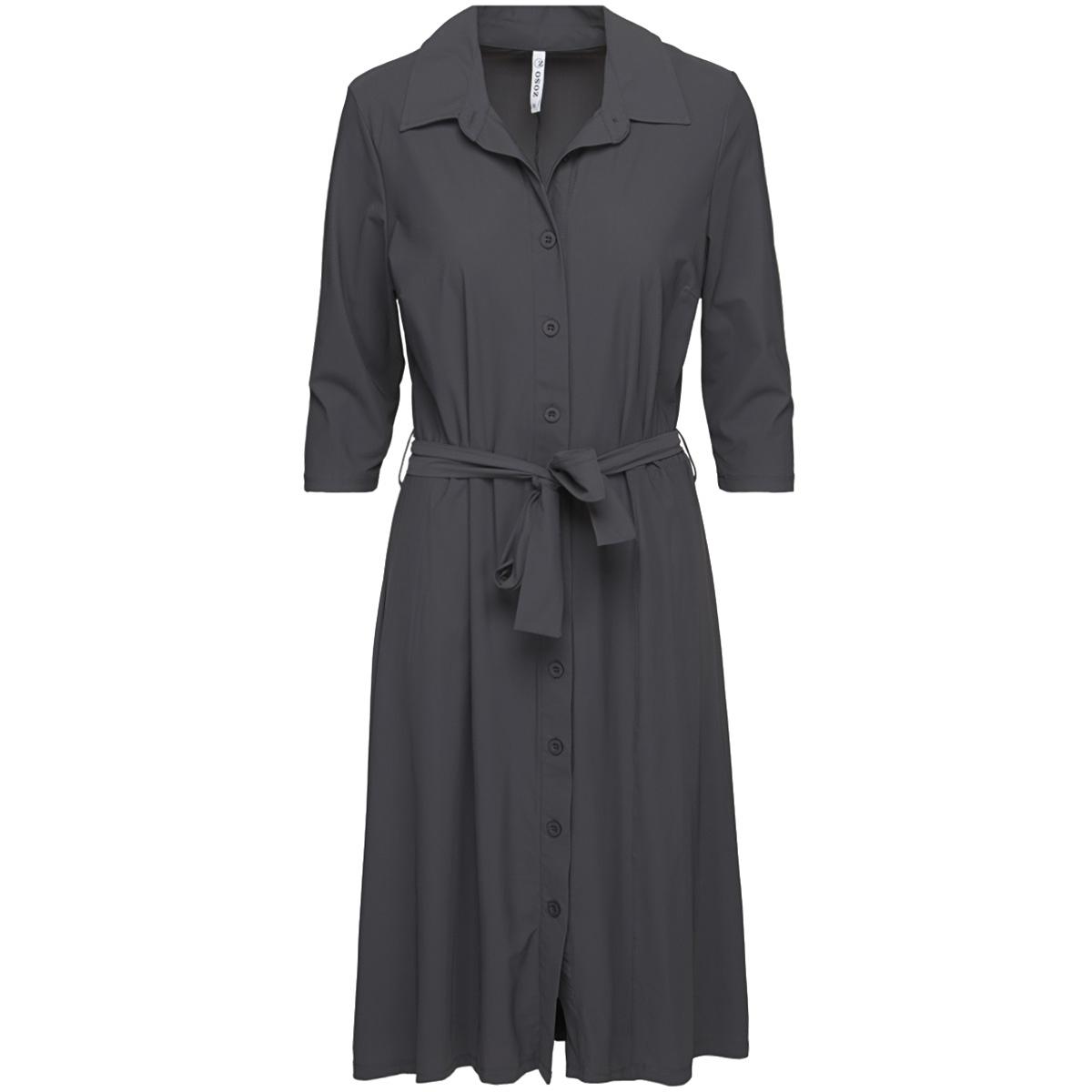 romance travel dress 201 zoso jurk 0059 charcoal