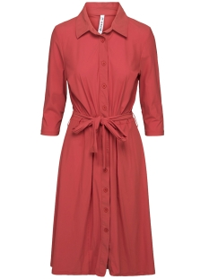 ROMANCE TRAVEL DRESS 201 0072 DESERT RED