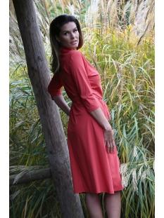 romance travel dress 201 zoso jurk 0072 desert red