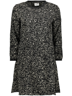 nmalena 7 8 dress 27010986 noisy may jurk black aop