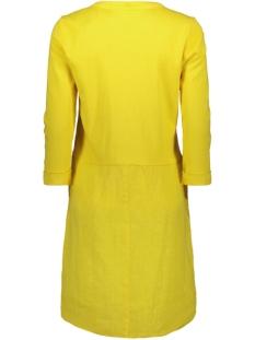 linnen jurk met knoopdetails 23001680 sandwich jurk 30024 mimosa