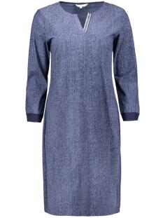 jurk met grafische print 23001689 sandwich jurk 41027 blue grey
