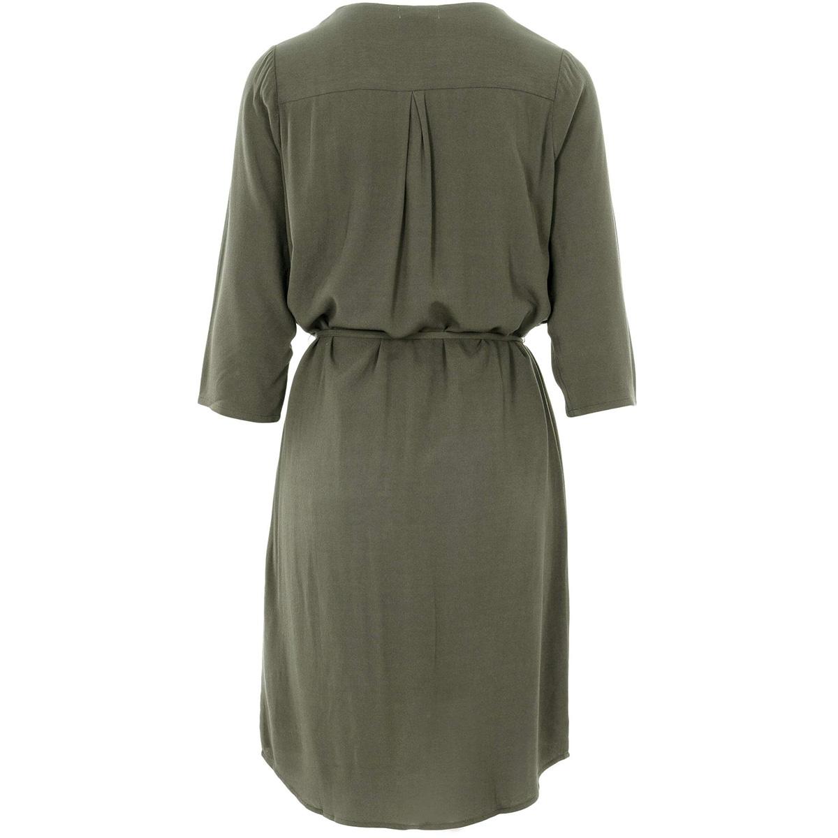 vlot jurkje 0301 010 4500 zusss jurk groen