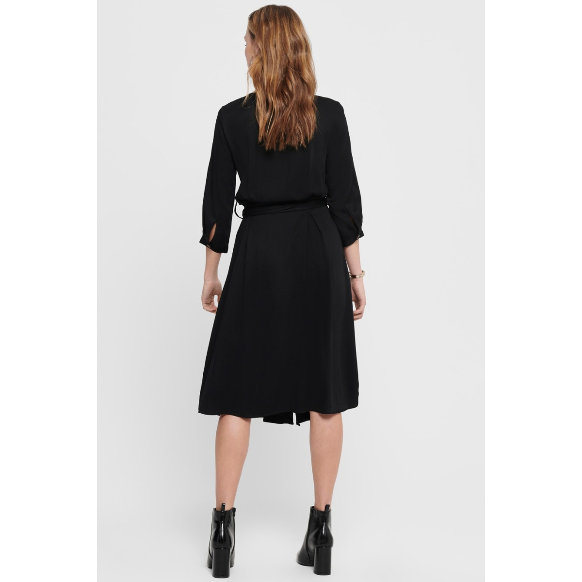 jdyrhea 3/4 dress wvn 15197863 jacqueline de yong jurk black