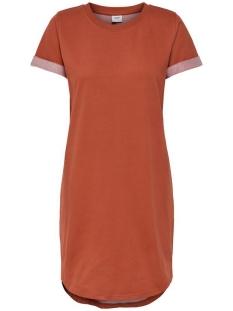 Jacqueline de Yong Jurk JDYIVY LIFE S/S DRESS JRS NOOS 15174793 Hot Sauce