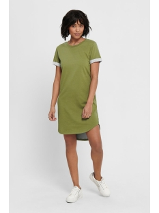 Jacqueline de Yong Jurk JDYIVY LIFE S/S DRESS JRS NOOS 15174793 Martini Olive