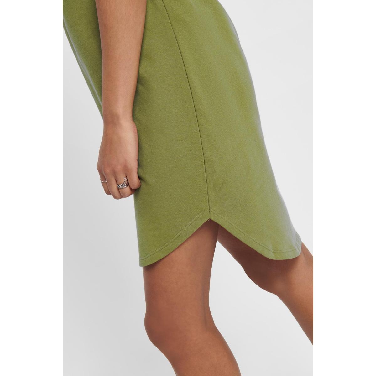jdyivy life s/s dress jrs noos 15174793 jacqueline de yong jurk martini olive
