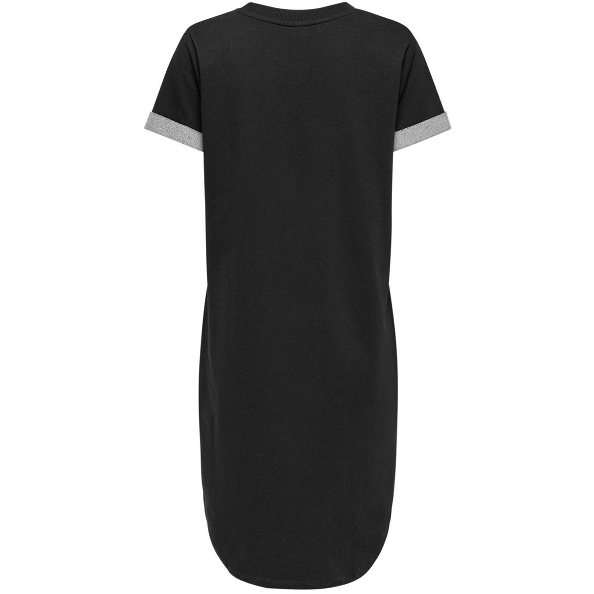 jdyivy life s/s dress jrs noos 15174793 jacqueline de yong jurk black