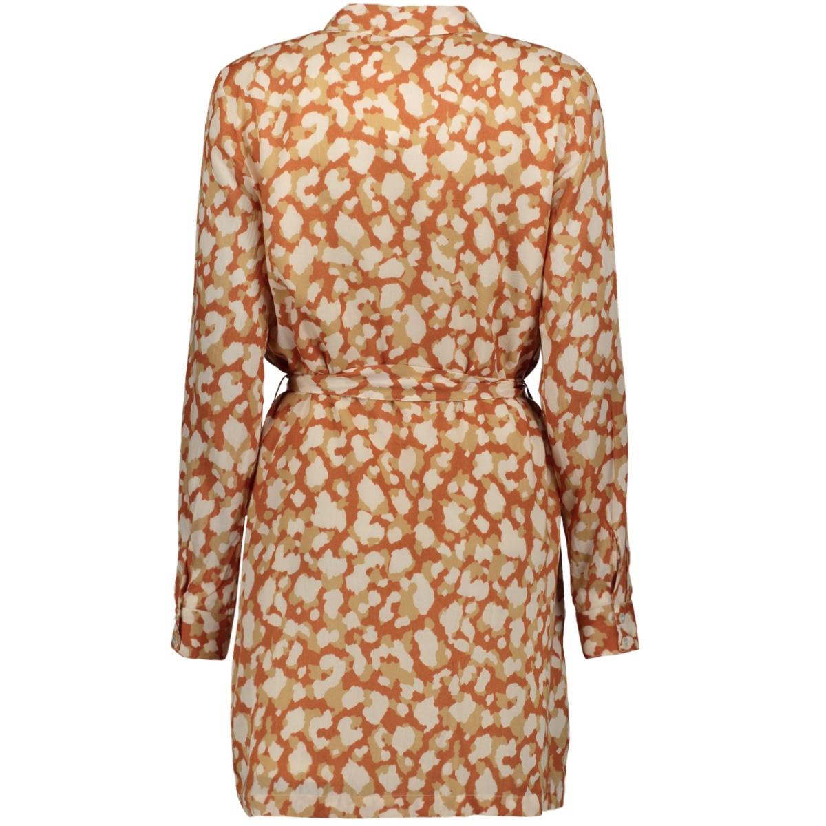 vmganna ls shirt dress lcs 10226679 vero moda jurk bruschetta/ganna
