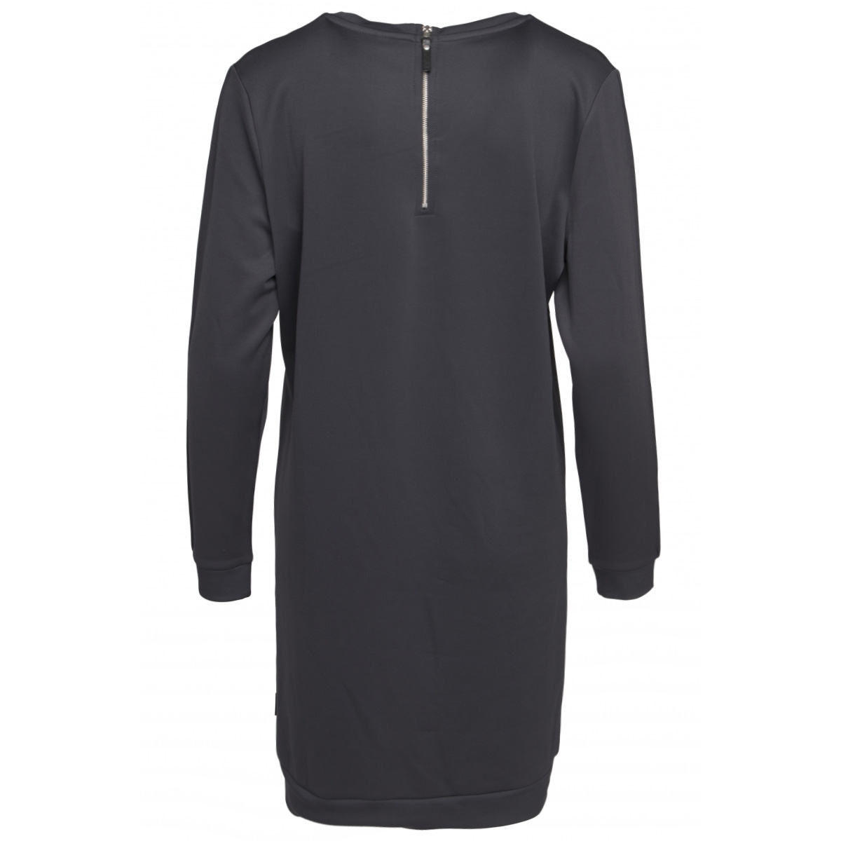 didi scuba modal dress 201 zoso jurk 0059 charcoal
