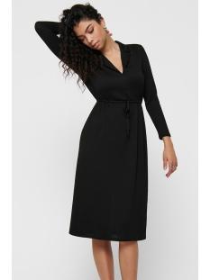 jdyannika l/s dress jrs 15198280 jacqueline de yong jurk black