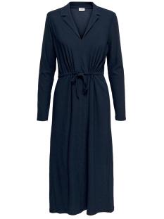 Jacqueline de Yong Jurk JDYANNIKA L/S DRESS JRS 15198280 Dark Navy