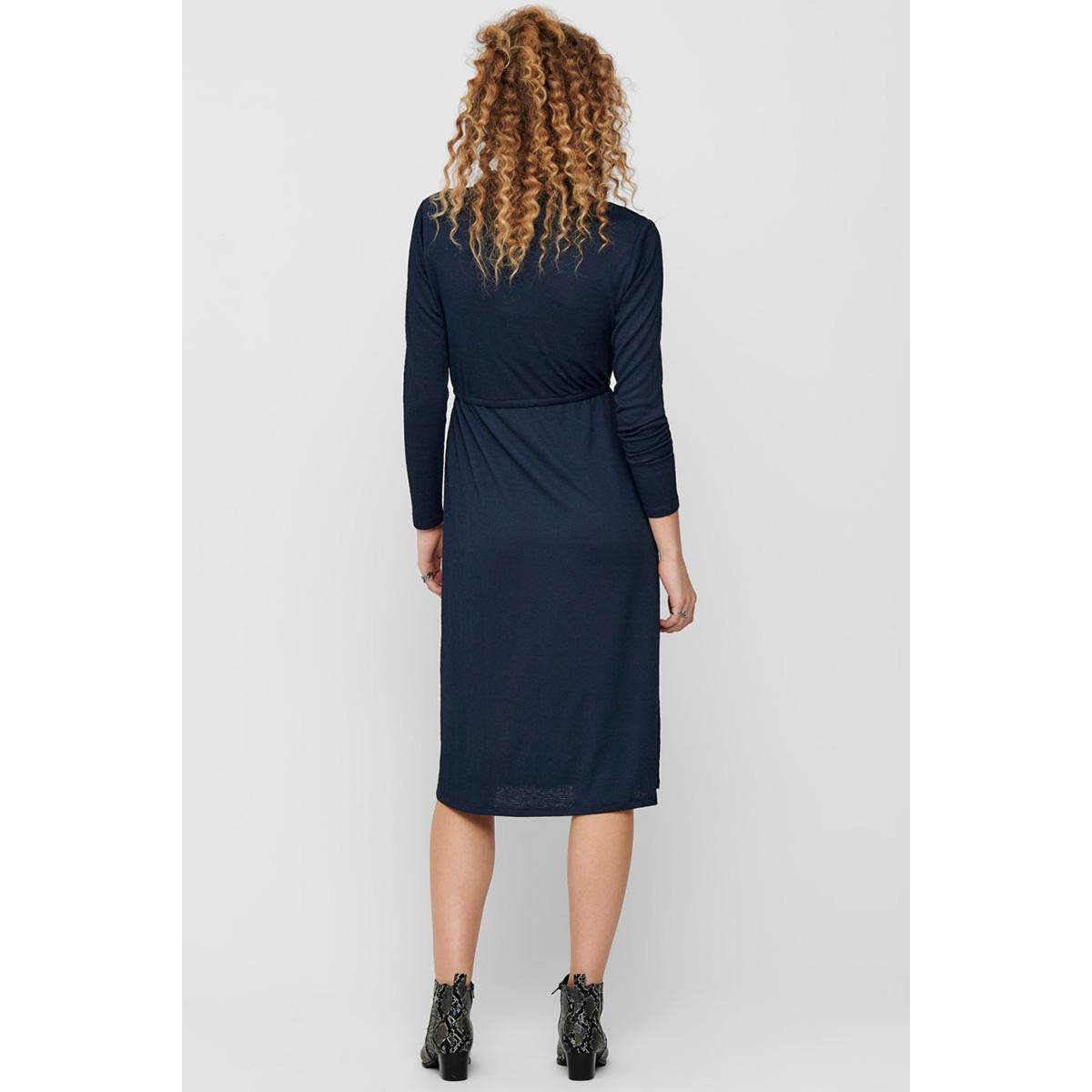 jdyannika l/s dress jrs 15198280 jacqueline de yong jurk dark navy