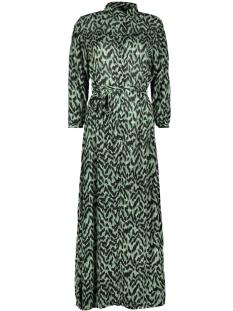 vmathen 7/8 ankle shirt dress vip 10232448 vero moda jurk green milieu/anna