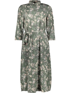 Vero Moda Jurk VMDIANA 3/4 CALF SHIRT DRESS WVN DA 10227859 Laurel Wreath/DIANA
