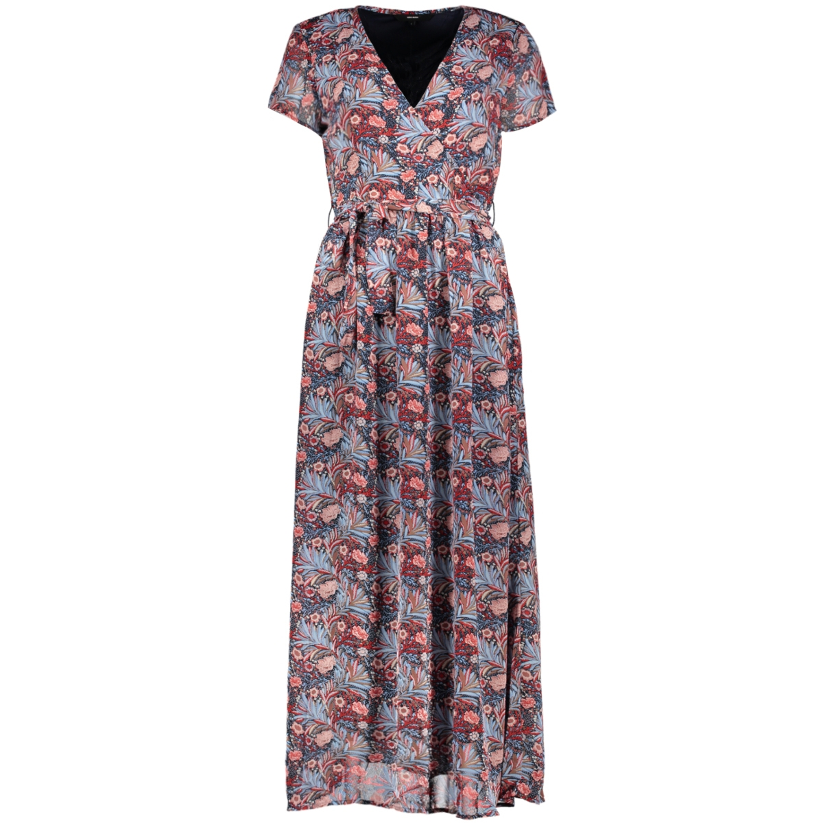 vmdiris ss maxi dress lcs 10229684 vero moda jurk goij berry/diris