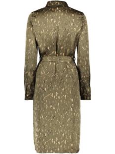 vmemilja l/s shirt tunic exp 10237583 vero moda jurk ivy green/emilja