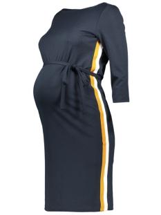 Mama-Licious Positie jurk MLTINE BLACKIE 3/4 JERSEY ABK DRESS 0010638 Salute/THAI CURRY
