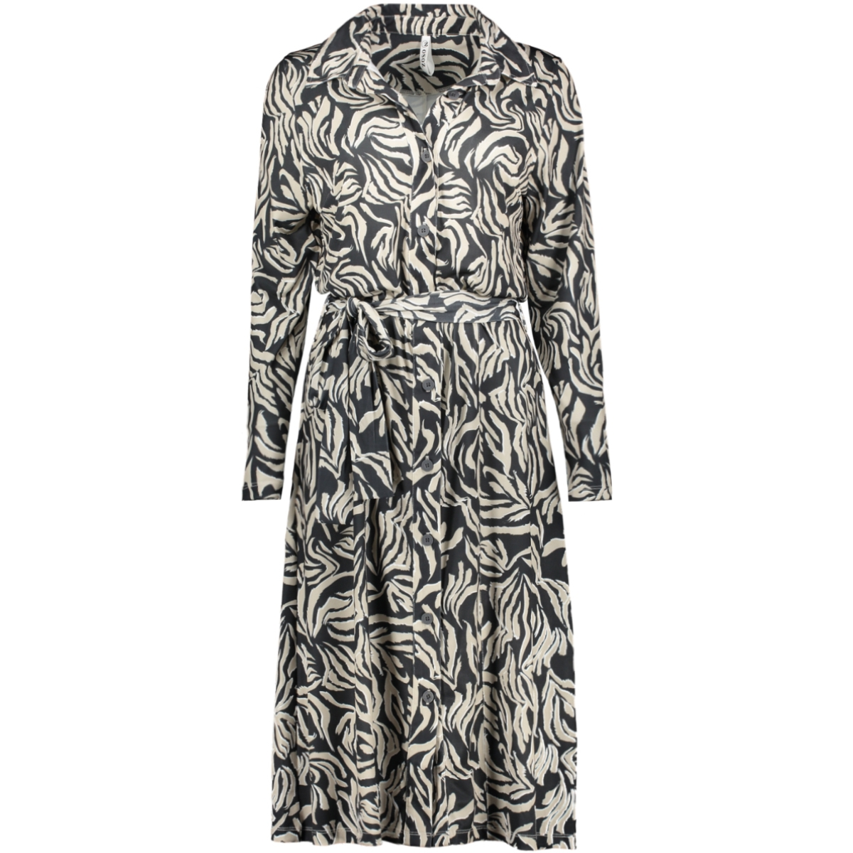 yvette animal print dress 201 zoso jurk 5000 as is