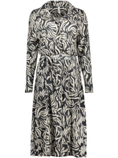 Zoso Jurk YVETTE ANIMAL PRINT DRESS 201 5000 AS IS