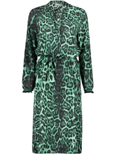 Geisha Jurk MAXI DRESS OP WITH STRAP 97751 Green Combi